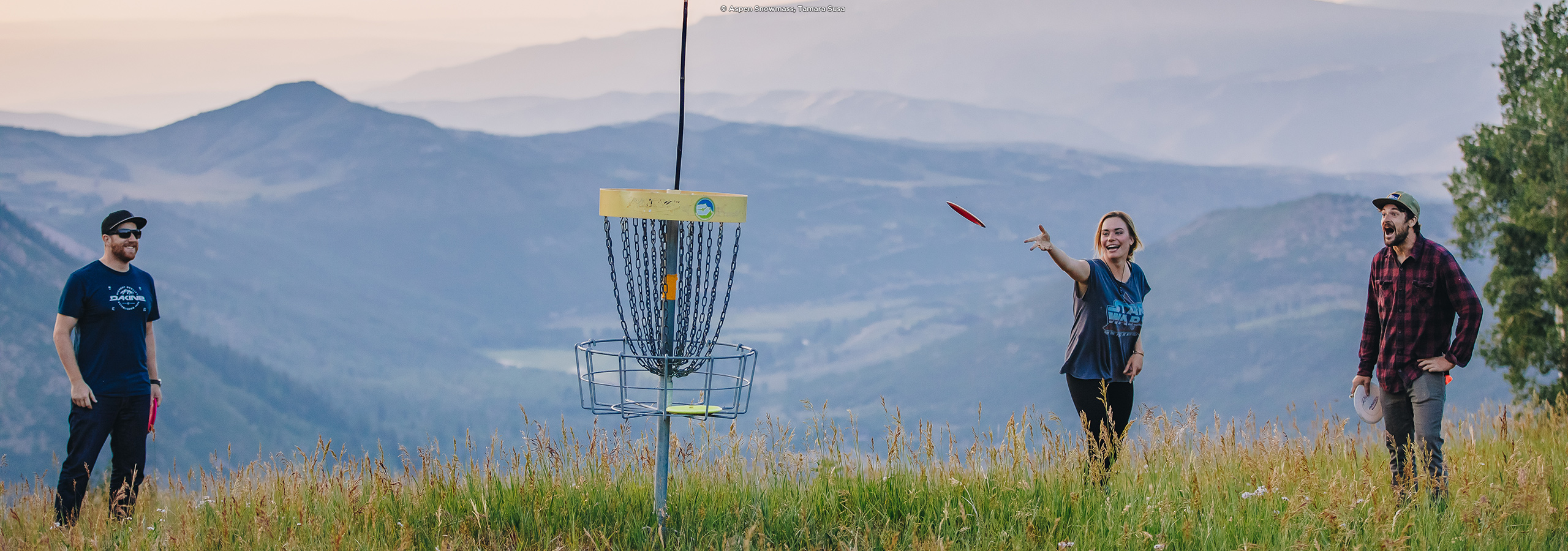 Frisbee Golf in Aspen
