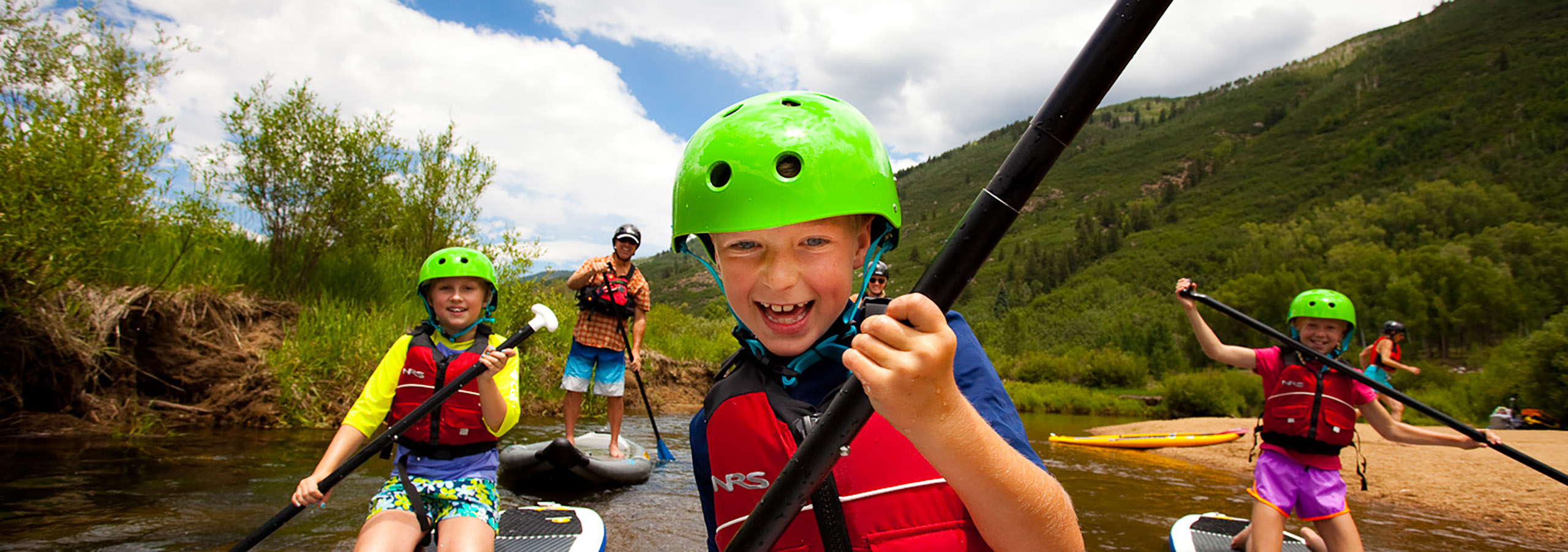 Stand Up Paddleboarding in Aspen