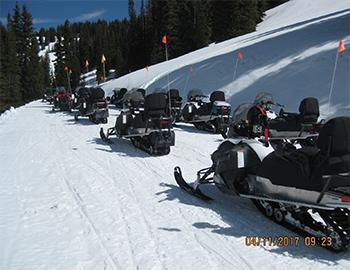 Aspen Snowmobile Tours