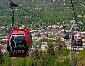 Aspen summer gondola rides