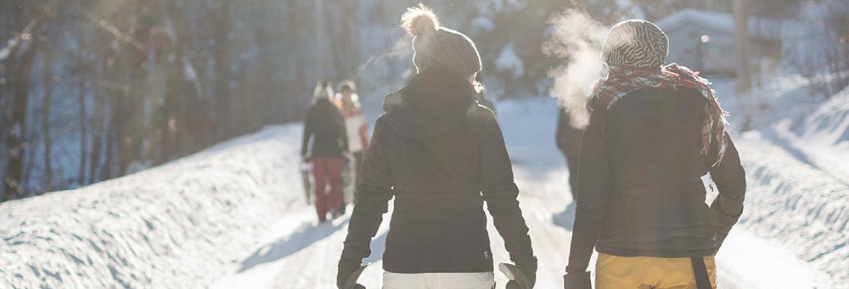 Snowshoeing in Aspen