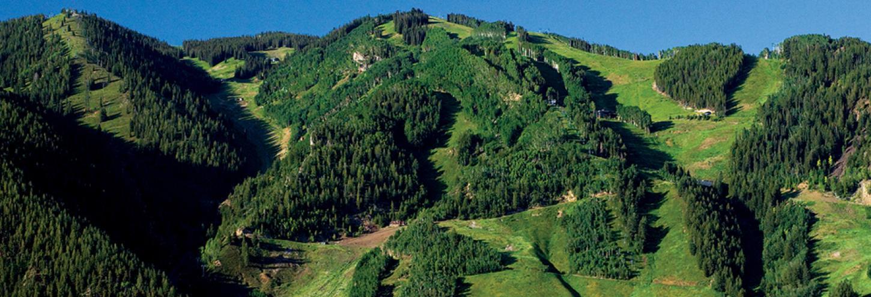 Aspen Mountain in the summer