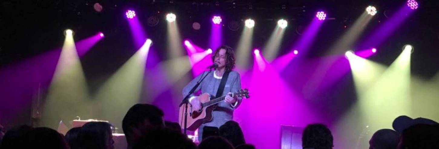 Chris Cornell at the Belly Up Aspen