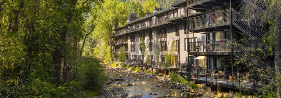 Amazing River Views Available At Chateau Roaring Fork and Chateau Eau Claire