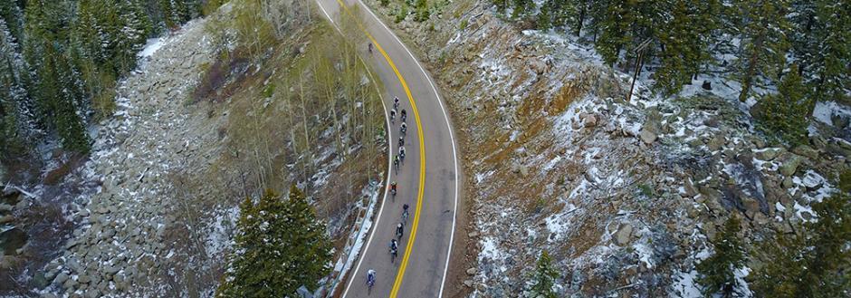 Riding E-bikes in Aspen
