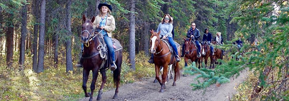 Aspen horseback riding