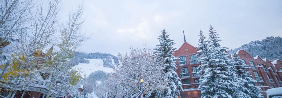 Downtown Aspen in Winter