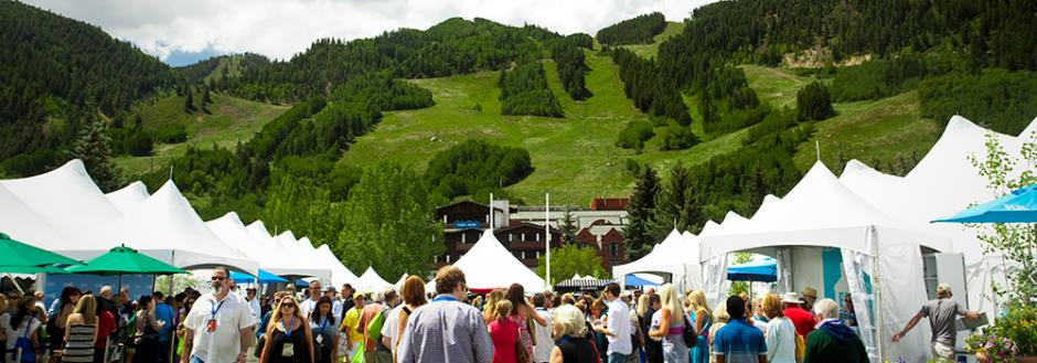 Summer event in Aspen
