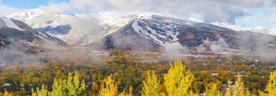 Aspen's first snow