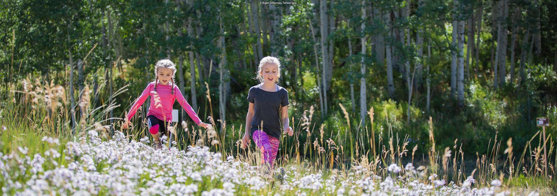 Aspen Kids Enjoying Summer