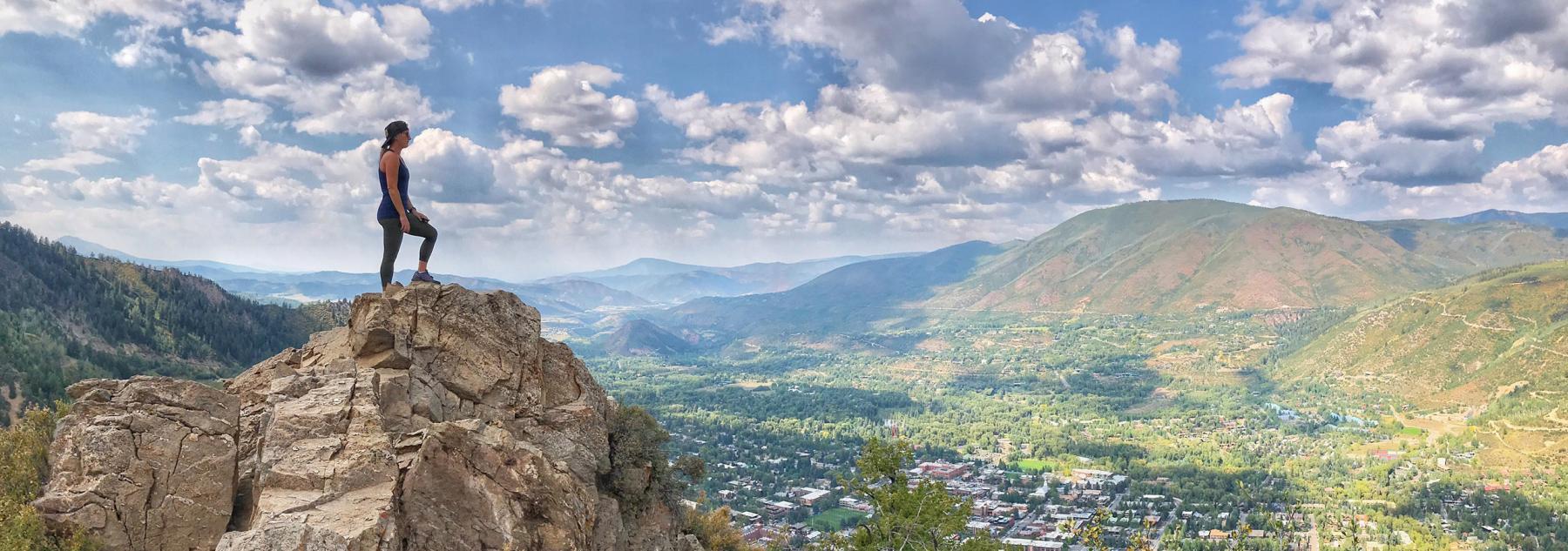 Ute Trail on Aspen Mountain