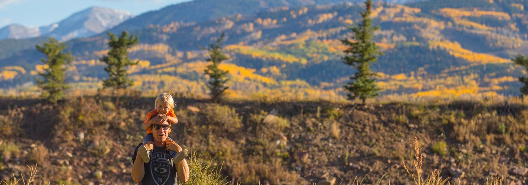 Aspen Hiking in the Fall