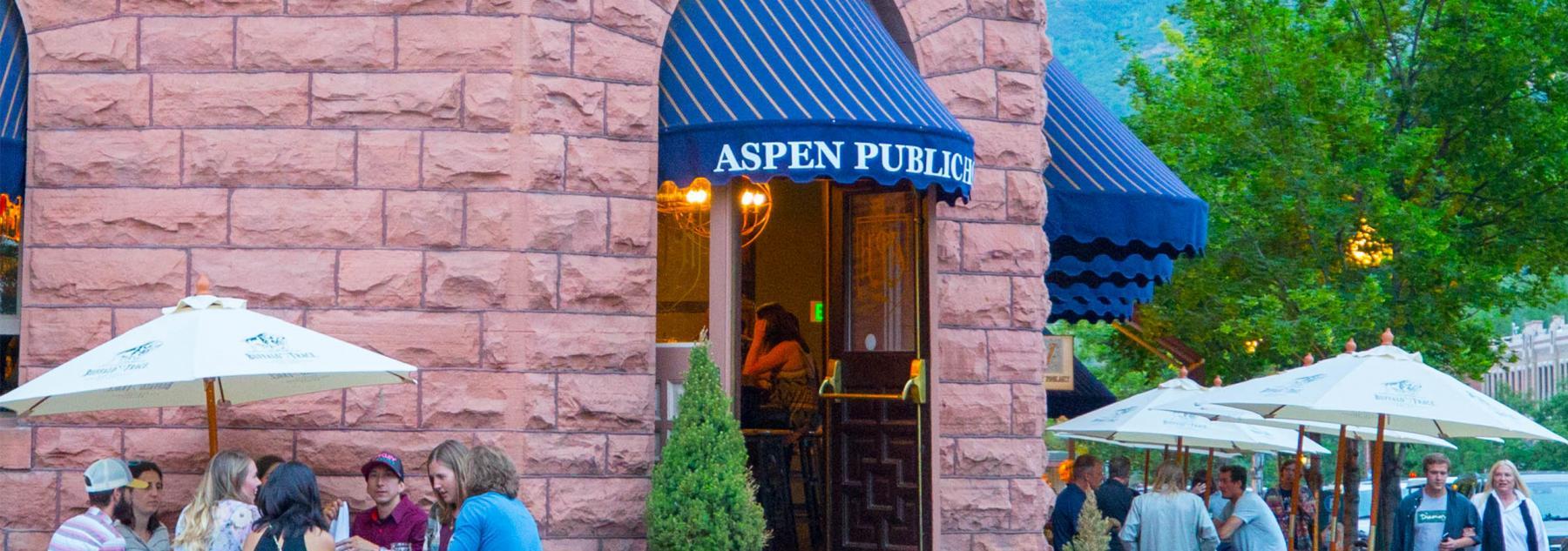 Al Fresco Dining in Aspen