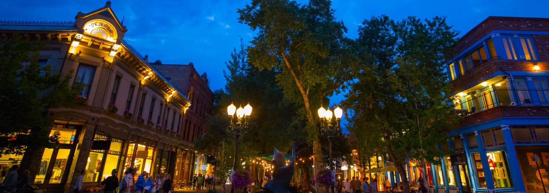 Aspen Summer Night