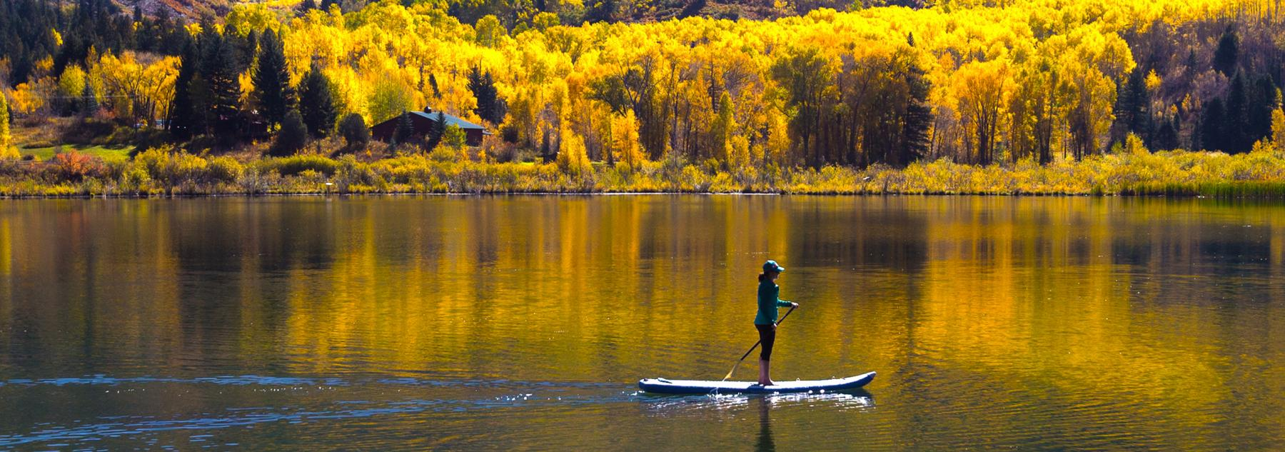 Paddleboarding the Fall