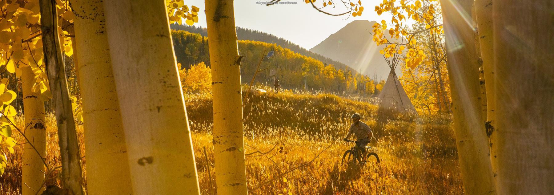 Aspen Biking in the Fall