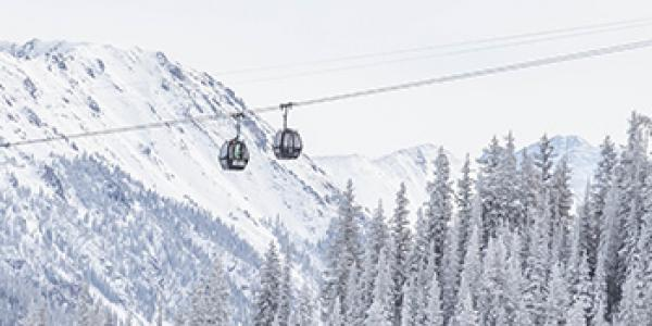 Aspen average annual snowfall