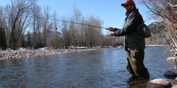 Roaring Fork River Trout Fishing