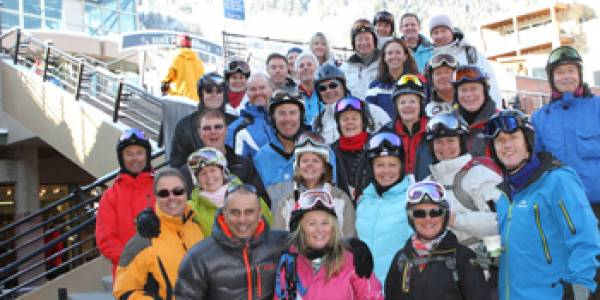 Australian ski group finds everything they need in Aspen