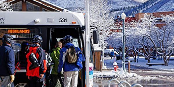 Aspen free skier shuttles