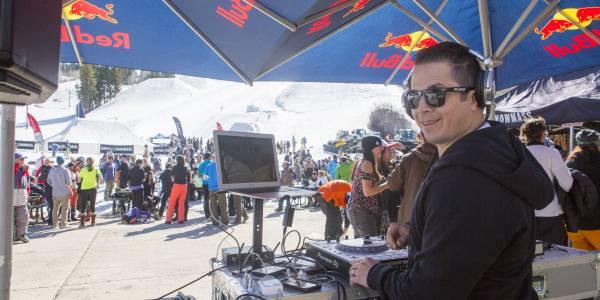 DJ NAka G at aspen mountain closing day