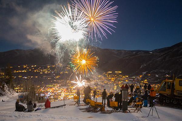fireworks in Aspen