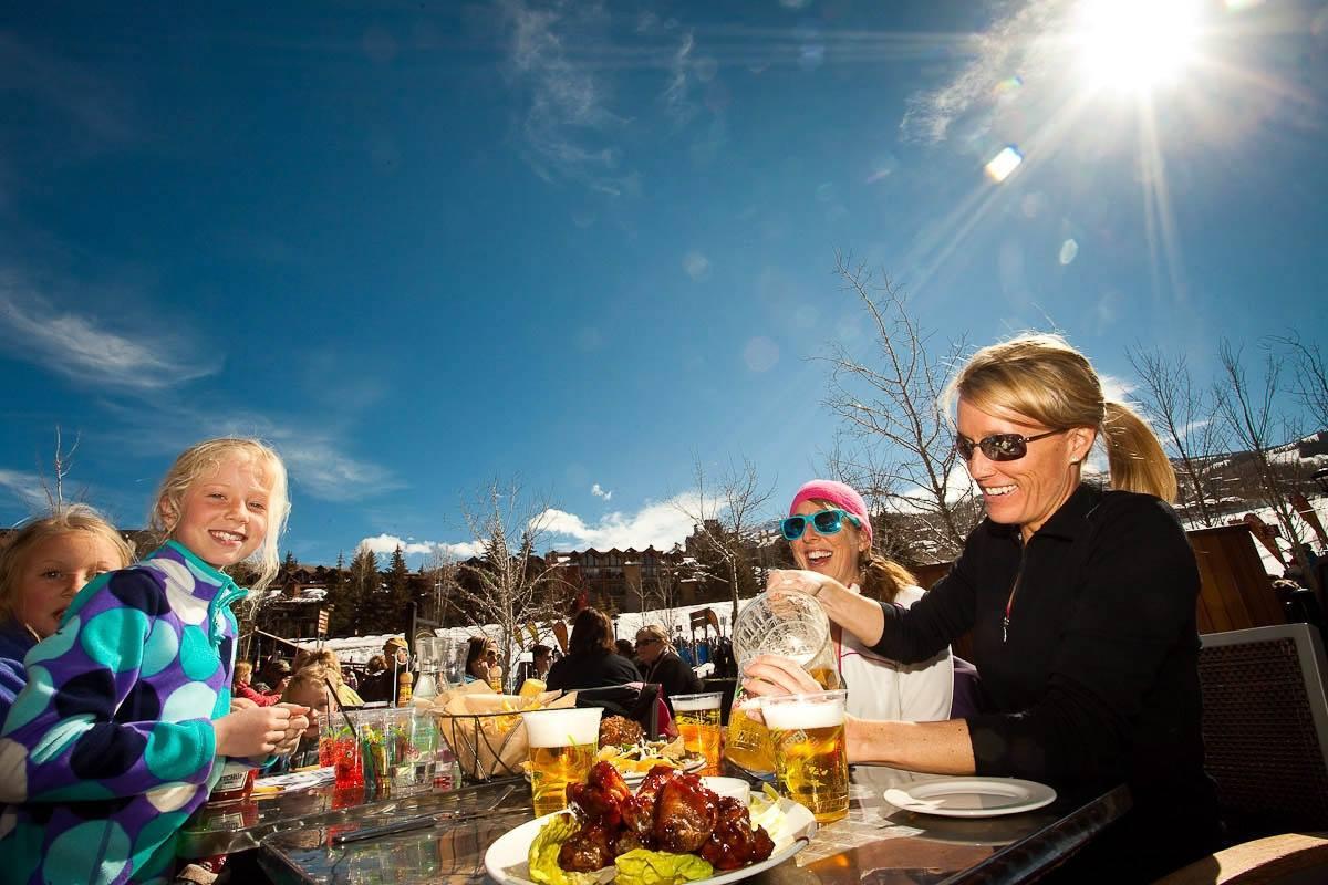 spring skiing aspen