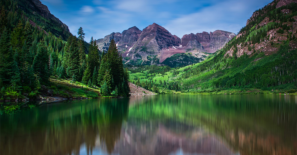 Maroon Bells sightseeing tour in Aspen
