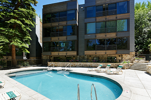 Durant Condos new pool