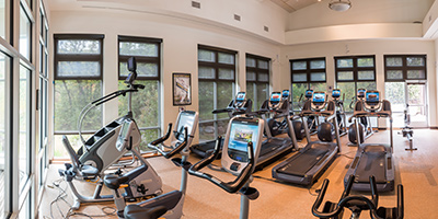 Complimentary health club passes
