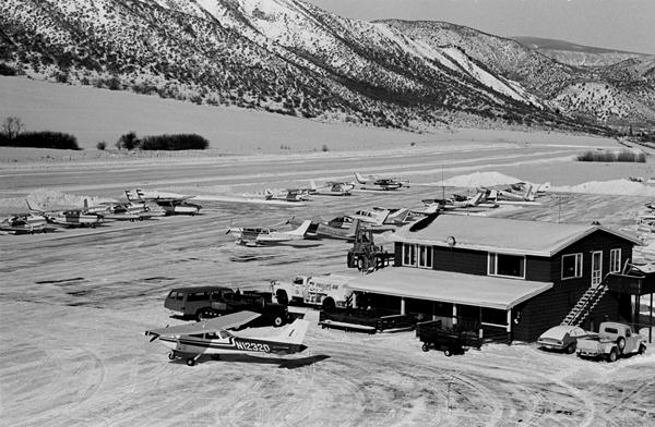 aspen airport increased arrivals