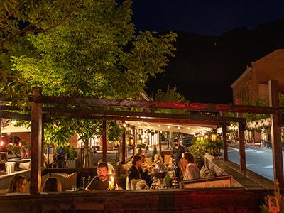 Outdoor Dining in Aspen
