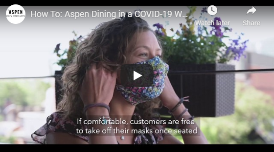 A visitor guide to dining in Aspen COVID-19