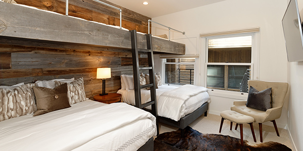 Aspen vacation rentals with extra beds