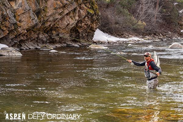 Fly Fishing in Aspen