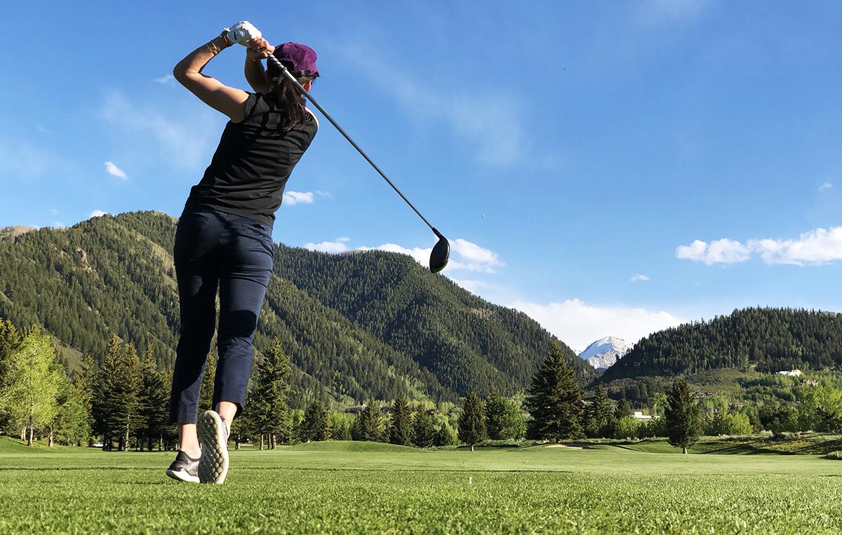 golf aspen summer activities