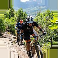 Lance Armstrong Mountain Biking in Aspen