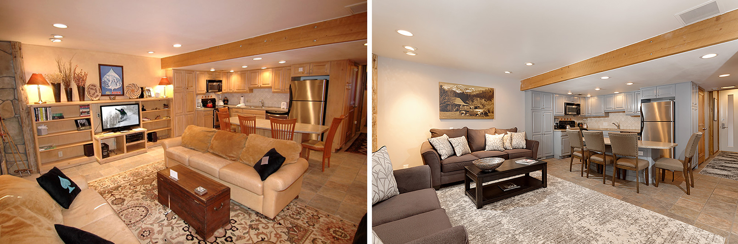 fifth avenue condos aspen vacation rentals renovation