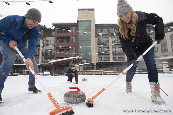 Curling in Aspen