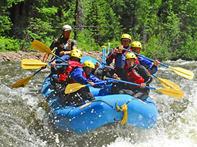 Rafting with Blazing Adventures