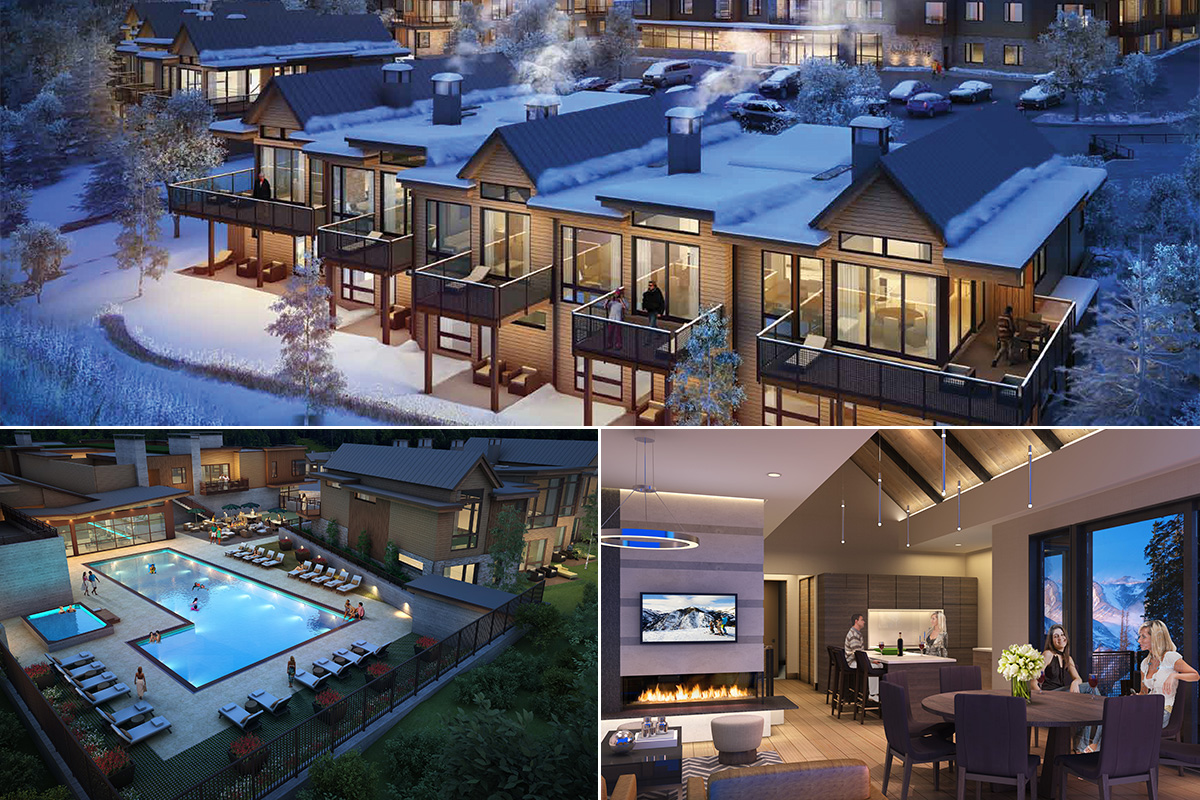 Renderings of the new Aspen Club