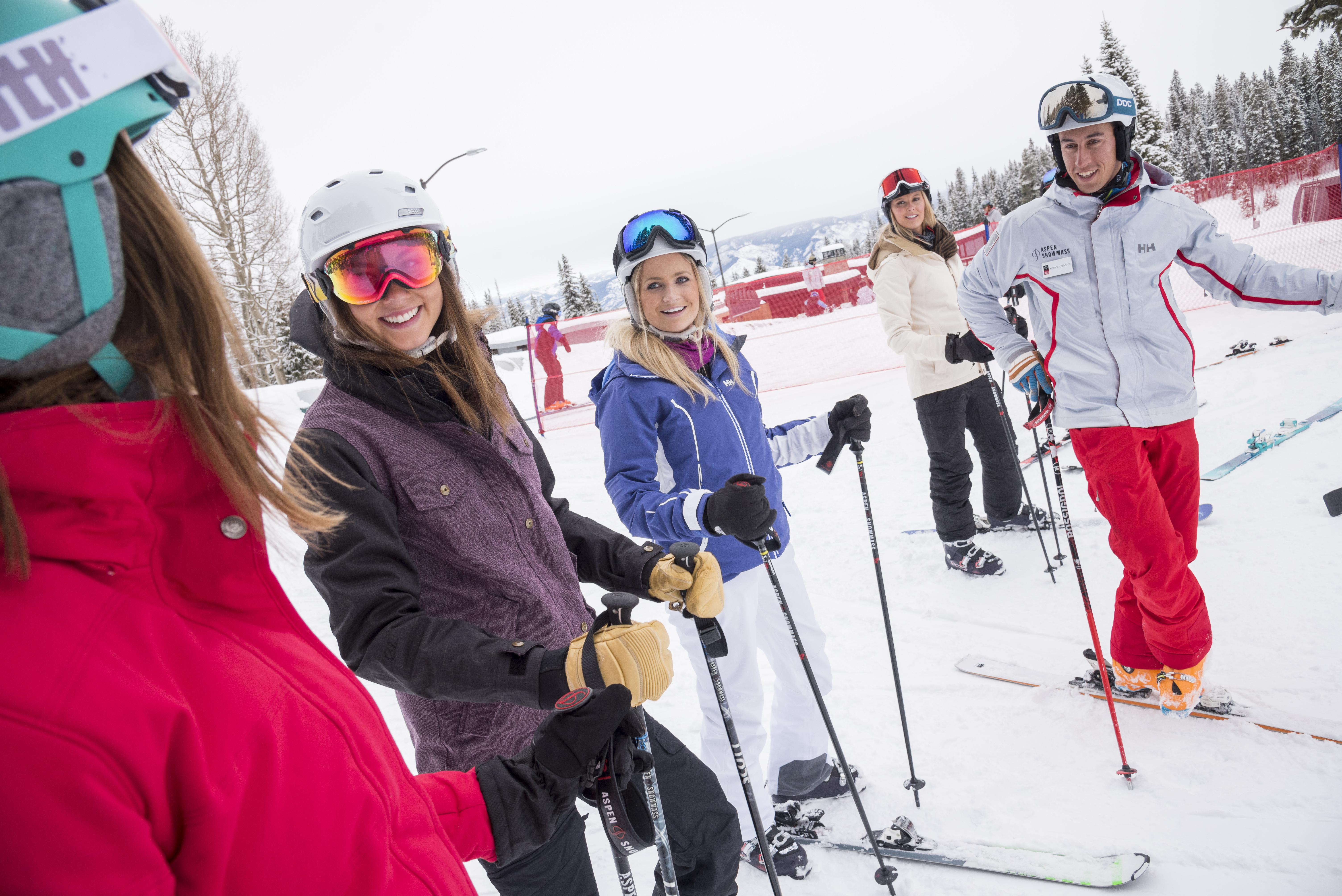 ski lessons at buttermilk aspen snowmass