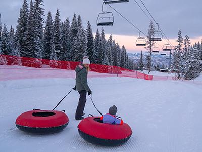 Aspen Snowmass Snow Tubing