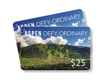 How to Spend Your Aspen Defy Ordinary Gift Card
