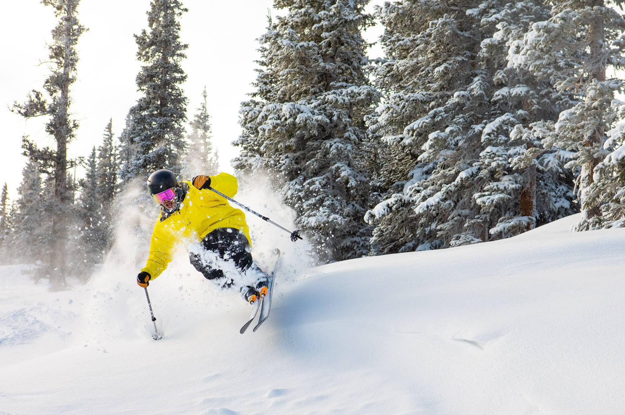 Jumping in Aspen