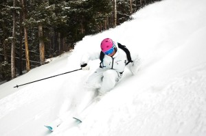 The skiing is great at Aspen Highlands. Try the Highlands Bowl - if you dare!