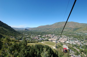 The Silver Queen Gondola in downtown Aspen offers amazing summer views!