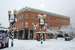 The Independence Square hotel was built in 1889, and is one of the oldest buildings in Aspen. Frias Properties offers more than 20 lodging choices in this historic building!