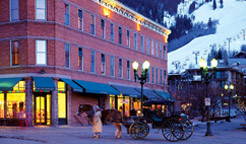 The Independence Square hotel is Aspen's only lodge on the downtown mall.